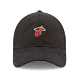 New ERA Miami HEAT Black 2017 Draft Dad Adjustable Cap - 1