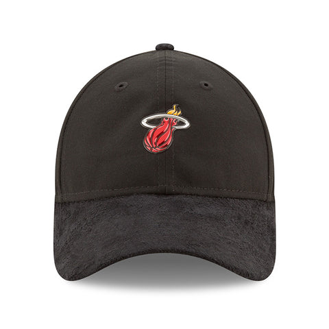 New ERA Miami HEAT Black 2017 Draft Dad Adjustable Cap