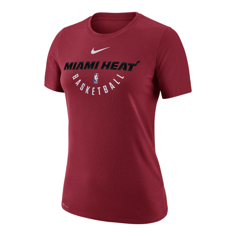 Nike Miami HEAT Ladies Practice Short Sleeve Tee