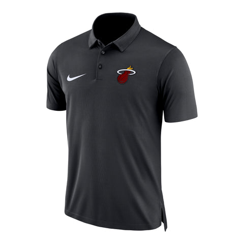 Nike Miami HEAT Statement Short Sleeve Polo