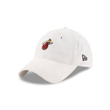 New ERA Miami HEAT White 2017 Draft Dad Adjustable Cap - 3