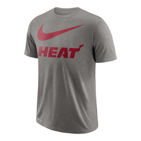 Nike Miami HEAT Short Sleeve Swoosh Team Tee
