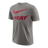 Nike Miami HEAT Youth Short Sleeve Swoosh Team Tee - 1