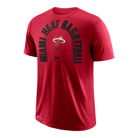 Nike Miami HEAT Short Sleeve Arch Wordmark Tee
