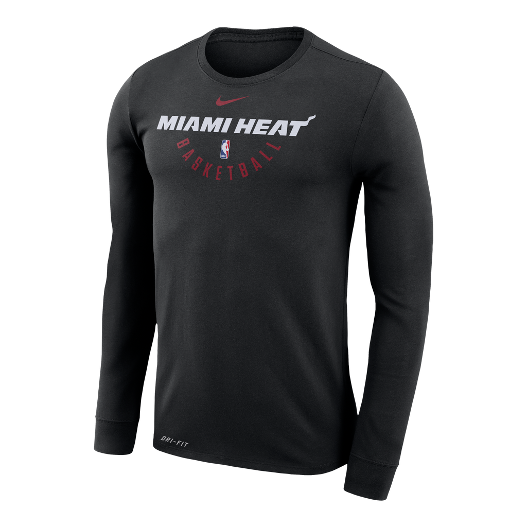 Nike Miami HEAT Long Sleeve Practice Tee - featured image