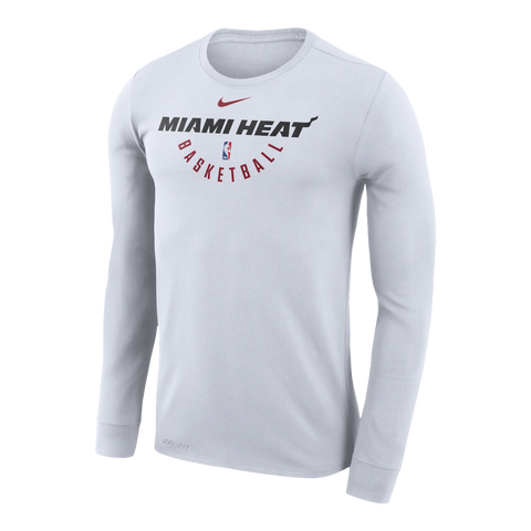 Nike Miami HEAT Long Sleeve Practice Tee