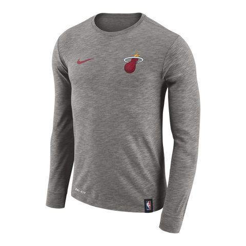 Nike Miami HEAT Long Sleeve Facility  Tee
