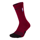 Nike Miami HEAT NBA Elite 1.5 Crew Sock - 1