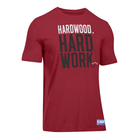 Under Armour Short Sleeve Hardwood Hard Work Tee