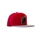 Mitchell & Ness Miami HEAT Winter Suede Perforated - 3