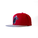 Mitchell & Ness Miami HEAT Winter Suede Perforated - 4
