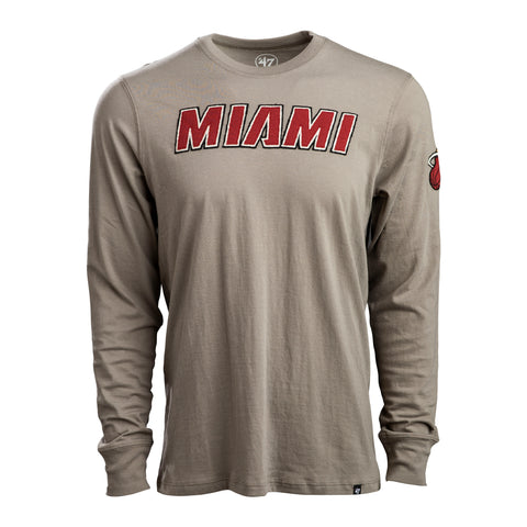 47' Brand Long Sleeve Toupe Fieldhouse Tee