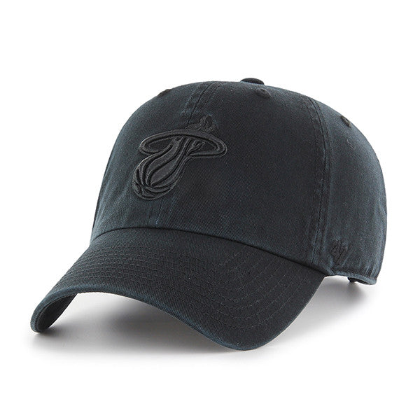 '47 Miami HEAT Black Cleanup Adjustable Cap - featured image