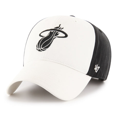 '47 Miami HEAT Fundamental Accent MVP White & Black
