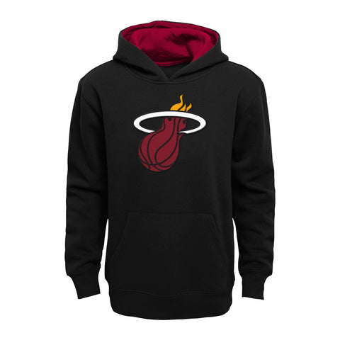 Miami HEAT Pullover Youth Black Hoodie