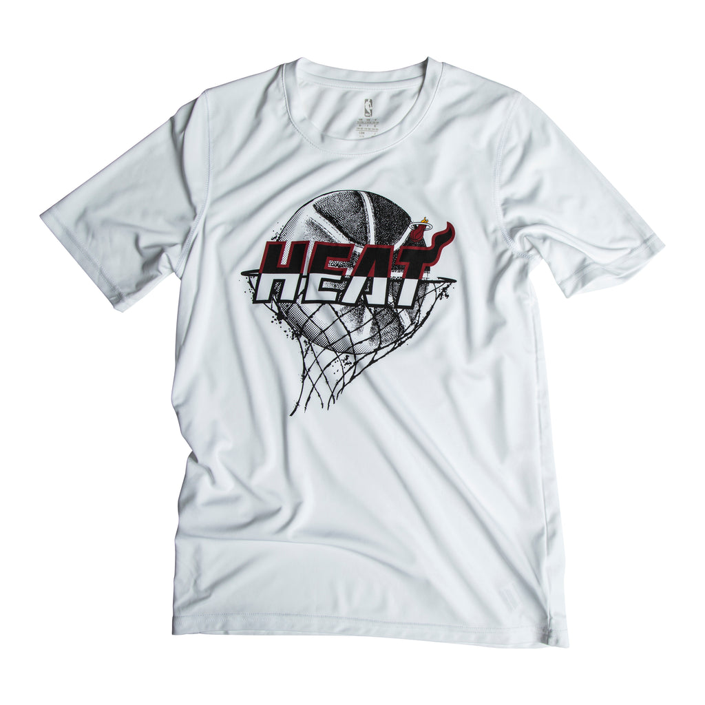 Miami HEAT Youth Liquid Ball Performance Tee - featured image