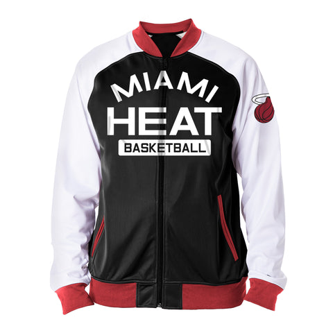 New ERA Miami HEAT Track Jacket