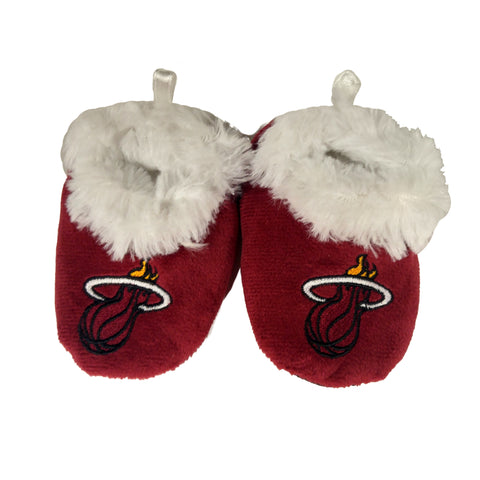 Forever Collectibles Miami HEAT Baby Bootie