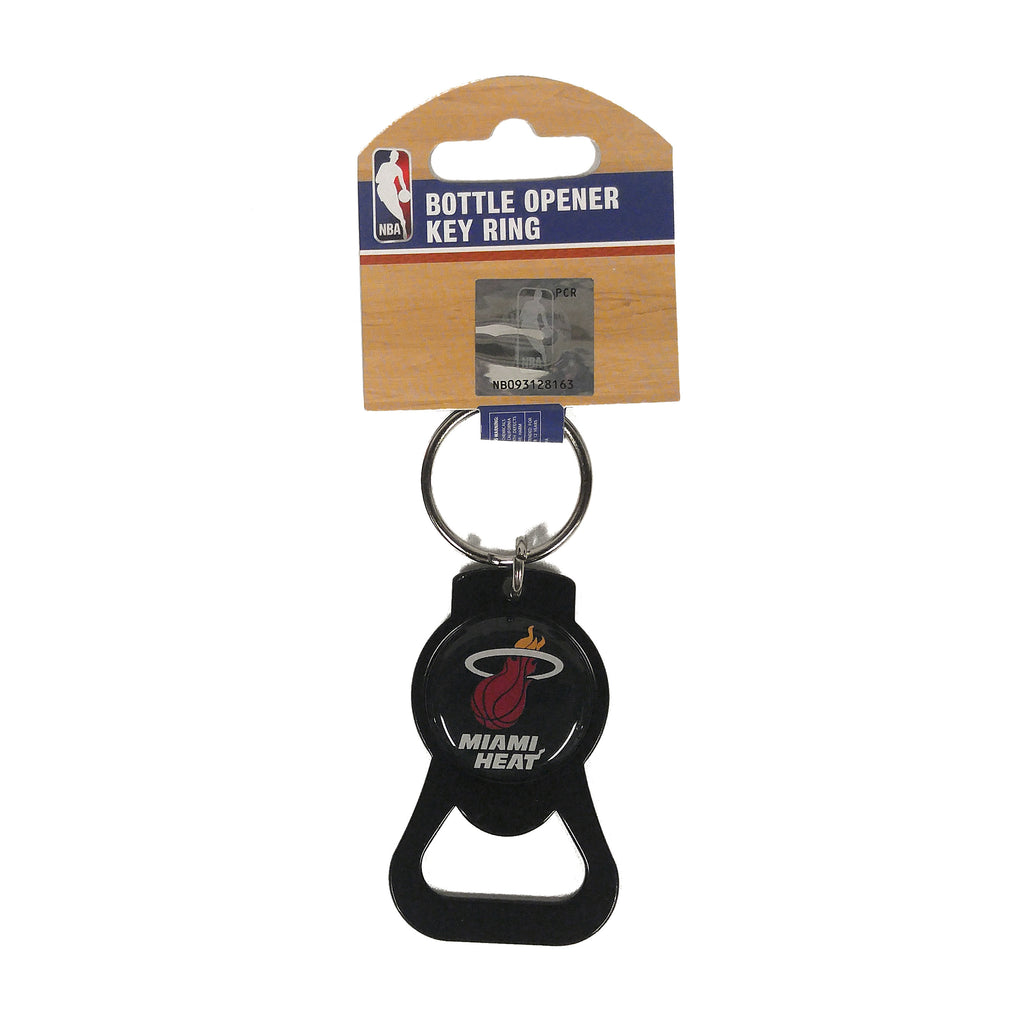 Miami HEAT Black Bottle Opener Key Ring - featured image