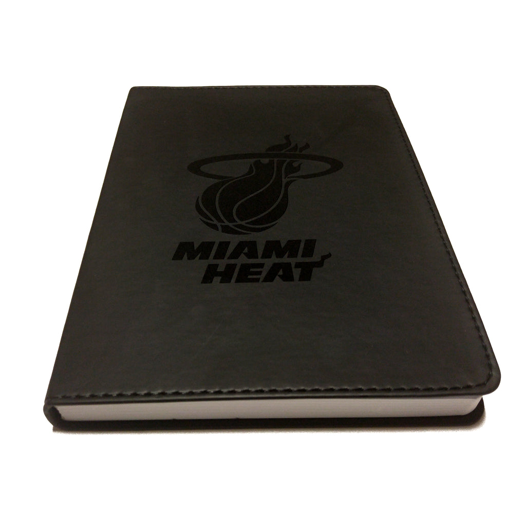 Miami HEAT Faux Leather Journal - featured image
