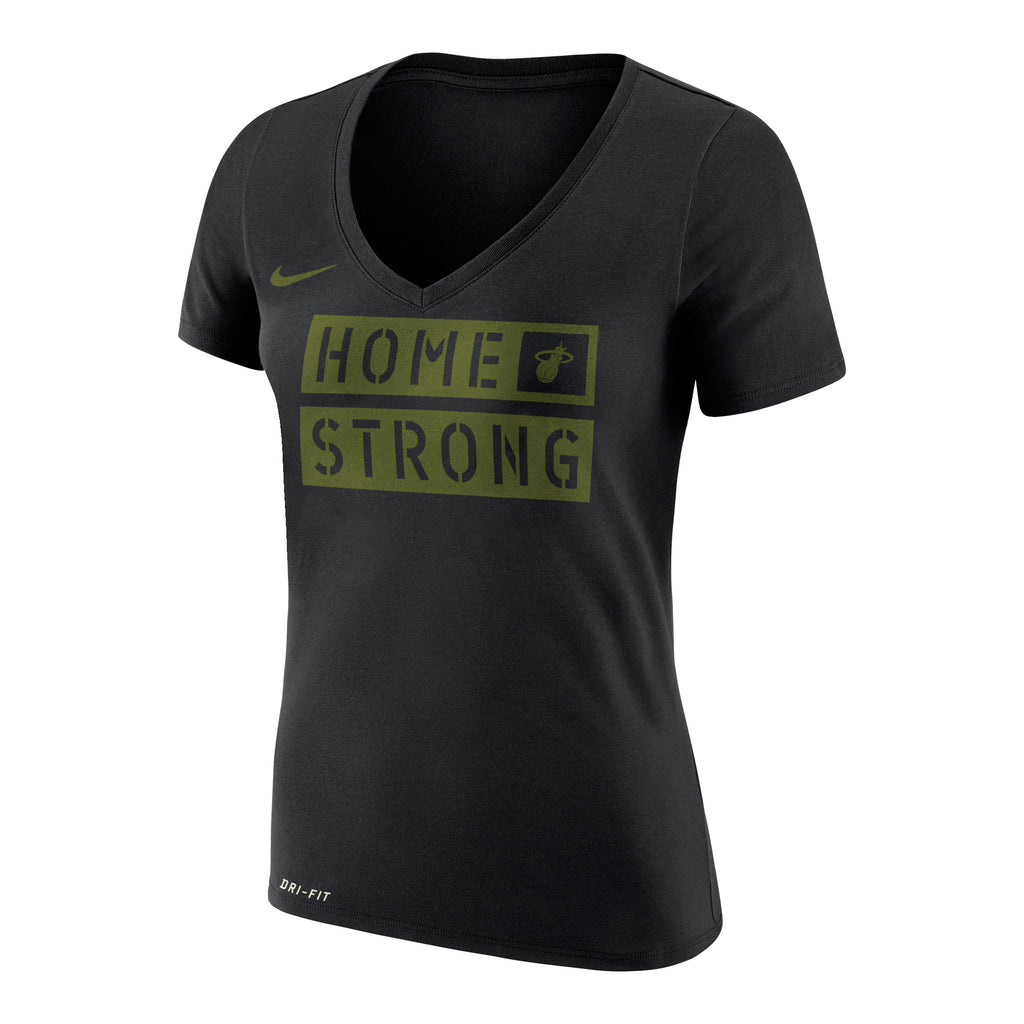 Nike Miami HEAT ladies Home Strong V-Neck - featured image