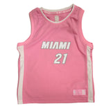 Hassan Whiteside Miami HEAT Girls Pink Jersey - 1