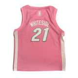 Hassan Whiteside Miami HEAT Infant Girls Pink Jersey - 2