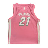 Hassan Whiteside Miami HEAT Girls Pink Jersey - 2