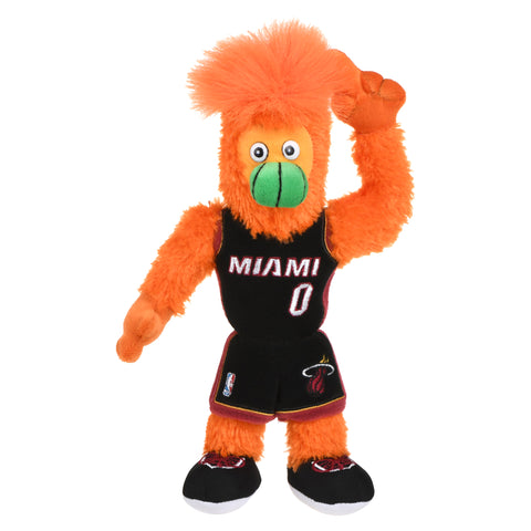 Forever Collectibles Miami HEAT Burnie Plush