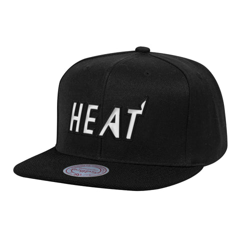 Mitchel & Ness Miami HEAT HWC Full Dollar Snapback