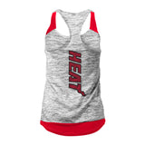 New ERA Miami HEAT Ladies Space Dye Tank - 2