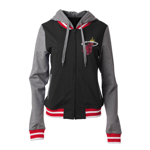 New ERA Miami HEAT Ladies Zipup Hoodie