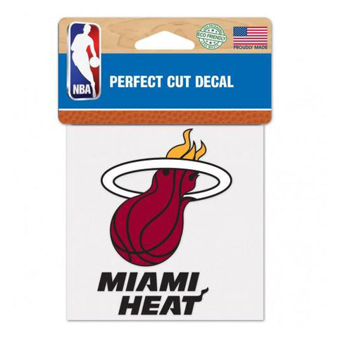 "Wincraft Miami HEAT Color Diecut 4""x4"" Decal"