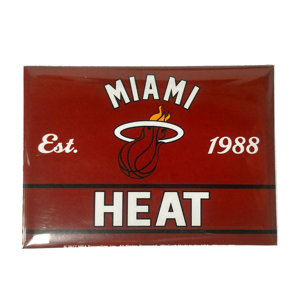 Wincraft Miami HEAT Metal Magnet - featured image