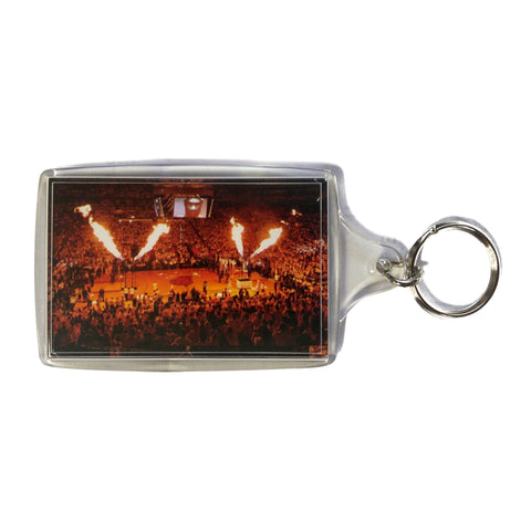 Miami HEAT Court Keychain