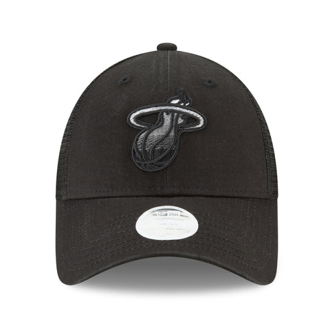 New ERA Miami HEAT Ladies Fade Front Trucker