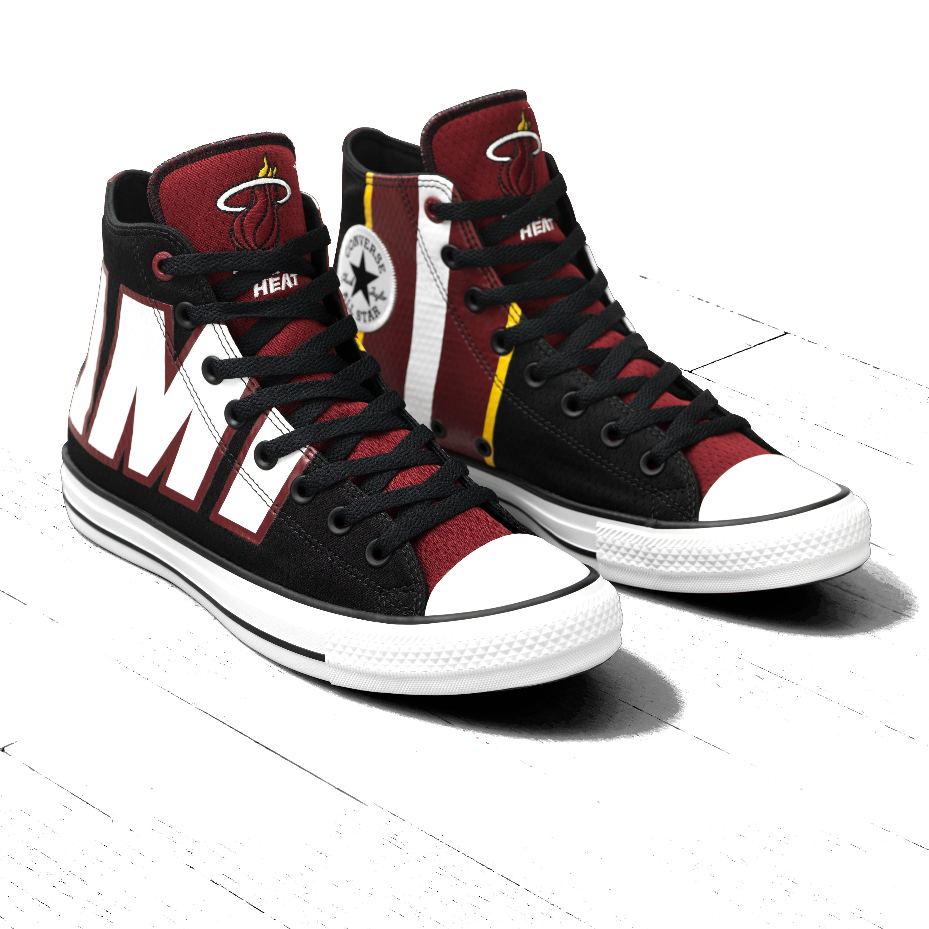 8e4fee1e2e0129 Converse Miami HEAT Hightops – Miami HEAT Store