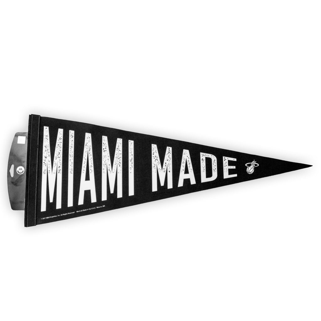 Court Culture Miami Made Pennant - featured image