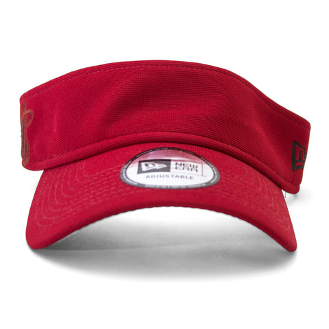 Court Culture Red JJ Visor