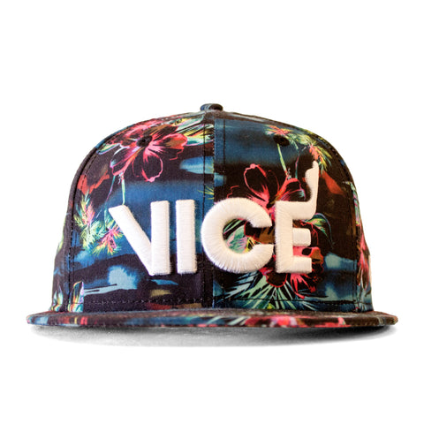 Court Culture VICE Dark Floral Snapback