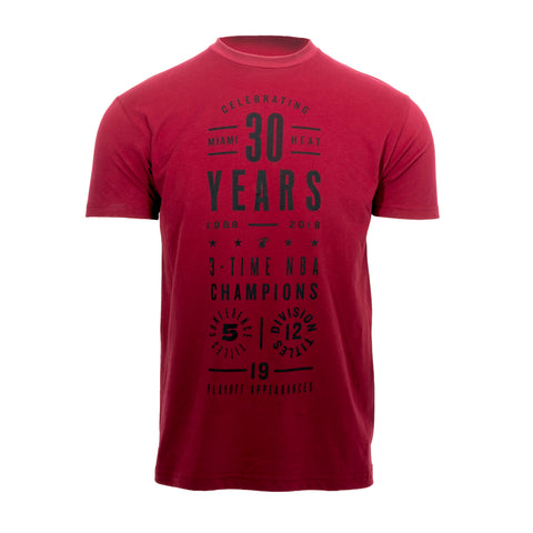 Court Culture 30 Years of HEAT Tee