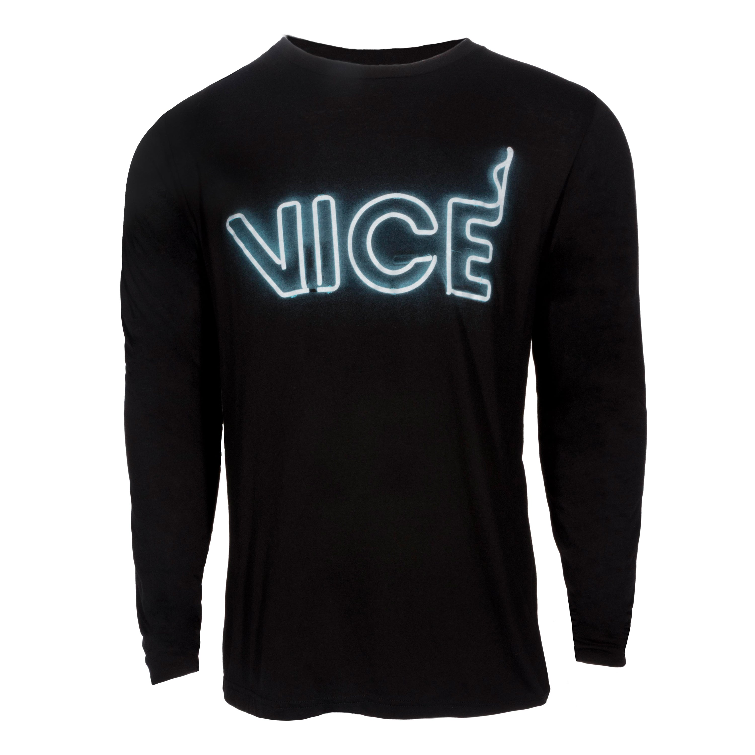 quality design 00fa6 0b97b VICE Neon Long Sleeve Tee – Miami HEAT Store