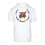 Vice Uniform City Edition Beach Club Short Sleeve Hoodie - 2