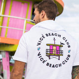 Vice Uniform City Edition Beach Club Short Sleeve Hoodie - 4