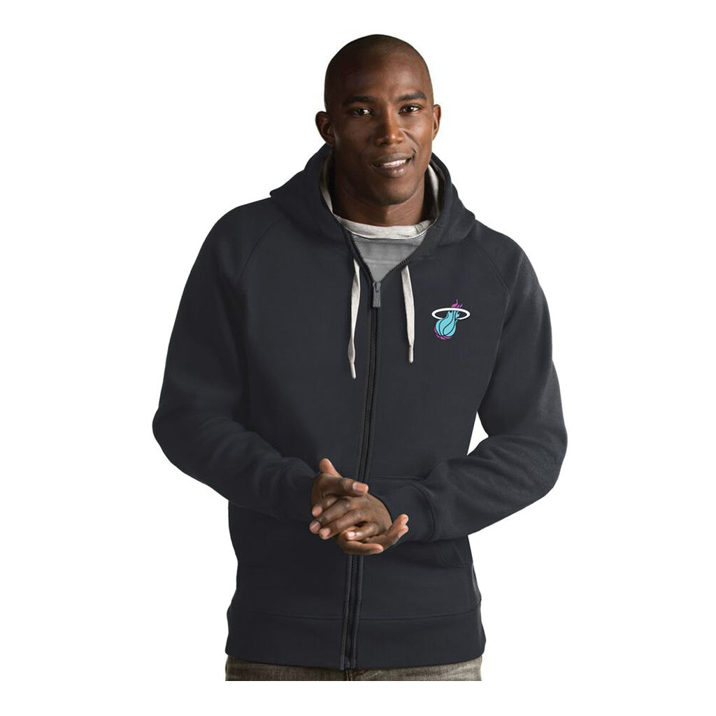 Antigua Miami HEAT Men's City Zip Up Hoodie - featured image