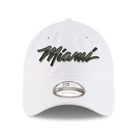 New ERA White Hot Miami Dad Hat
