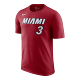 Dwyane Wade Nike Youth Red Name & Number Tee - 1