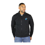 Sportiqe Miami HEAT Vice Nights Maverick Bomber Jacket - 1