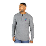 Sportiqe Miami HEAT Vice Nights Long Sleeve Campbell Thermal Henley - 2