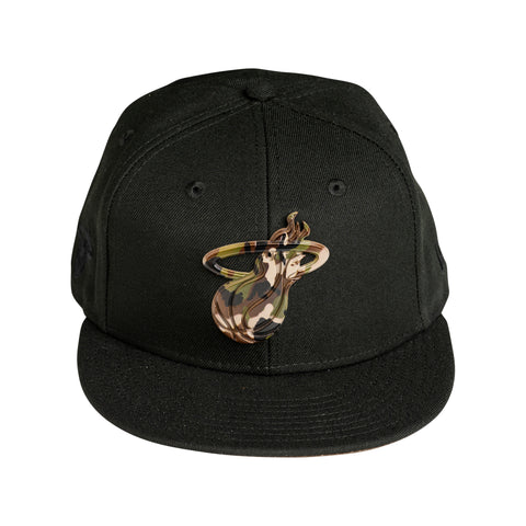 New ERA Camo Capped Snapback